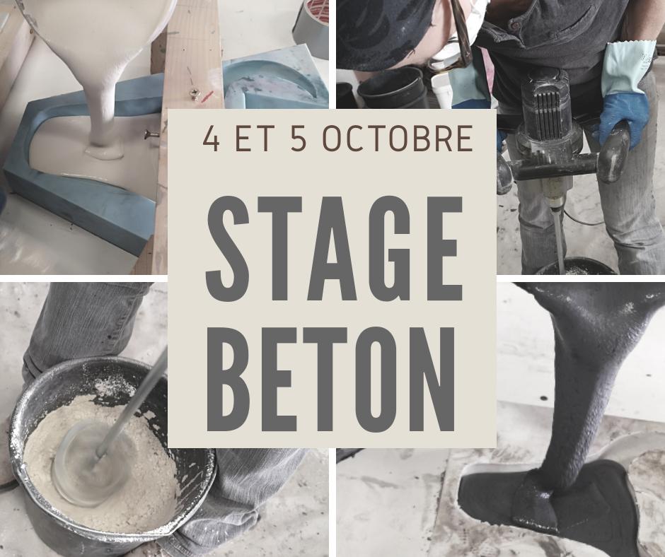 Stage: fabriquer du mobilier et des objets en beton objets beton diy