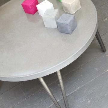 BbyNC , atelier brut de déco, mobilier béton, marseille