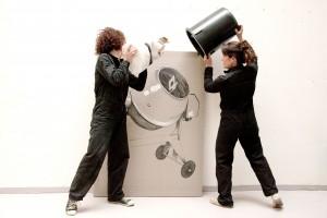 Cathy Et Nelly - BbyNC , atelier brut de déco, mobilier béton, marseille