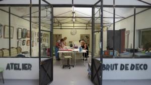 ENCADREMENT, atelier brut de déco, marseille, formation