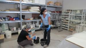 Mobilier et objet béton, atelier brut de déco, marseille, formation